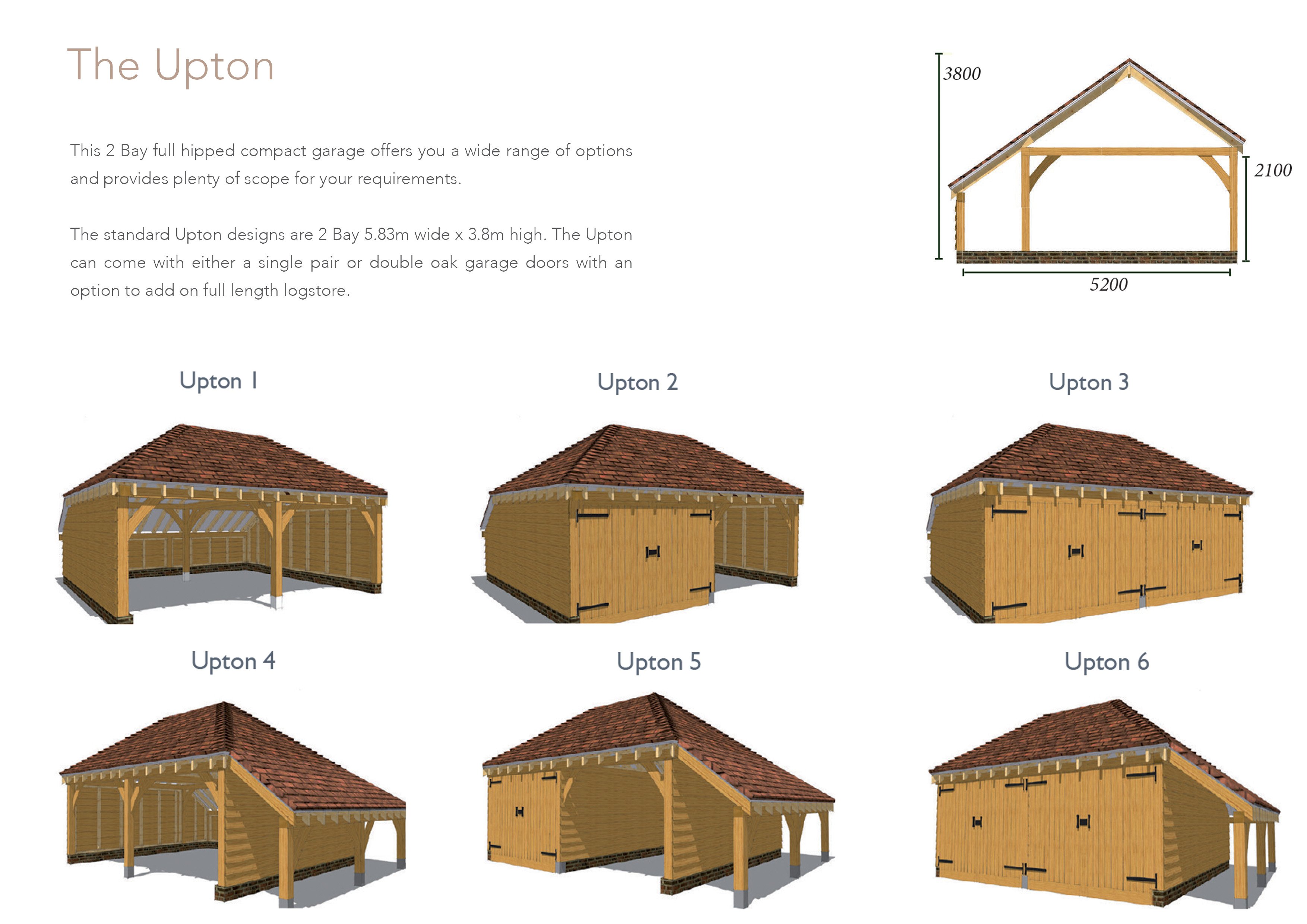 Garage Kits Mitre Oak Oak Framed Buildings